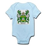 Mourao Family Crest Infant Creeper