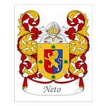 Neto Family Crest Small Poster