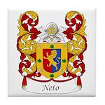 Neto Family Crest Tile Coaster