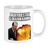 High Priest of Global Warming Coffee Mug