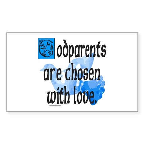 GODPARENT Rectangle Sticker