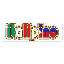 ItaliPino Bumper Bumper Sticker