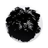 Affenpinscher Ornament (Round)