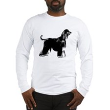 Afghan Hound Long Sleeve T-Shirt
