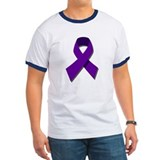 Purple Cancer Ribbon T