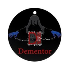 Evil Ghoul Dementor Ornament (Round)