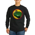KINGUANA Long Sleeve Dark T-Shirt