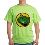 KINGUANA Green T-Shirt