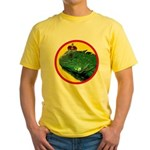 KINGUANA Yellow T-Shirt