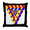 KUBEZ Throw Pillow