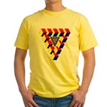 KUBEZ Yellow T-Shirt