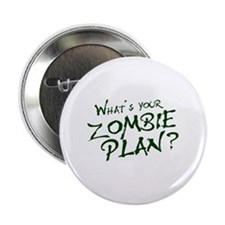"What's Your Zombie Plan? 2.25"" Button"