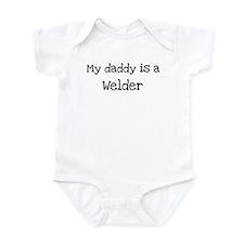 My Daddy is a Welder Onesie