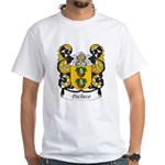 Pacheco Family Crest White T-Shirt