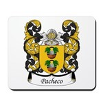 Pacheco Family Crest Mousepad