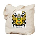 Pacheco Family Crest Tote Bag