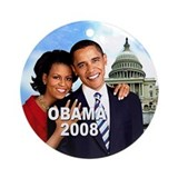 First Couple (White House) Ornament (Round)