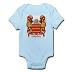 Pamplona Family Crest Infant Creeper