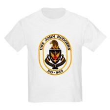 USS JOHN RODGERS Kids T-Shirt