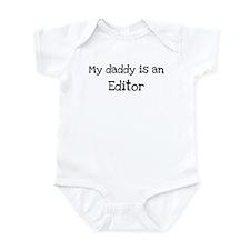 My Daddy is a Editor Onesie