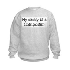 My Daddy is a Composer Sweatshirt