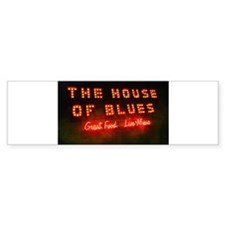 House of Blues Bumper Sticker (10 pk)