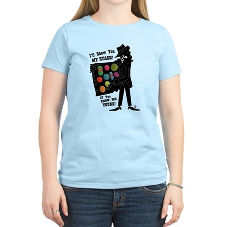 I'll Show You My Stash Women's Light T-Shirt