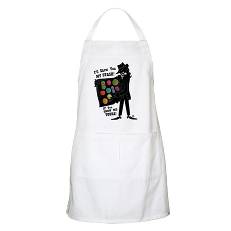 I'll Show You My Stash BBQ Apron