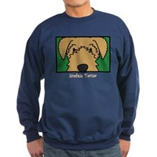 Anime Airedale Terrier Sweatshirt