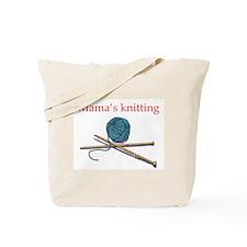 Mama's Knitting Tote Bag
