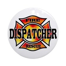 Fire Dispatcher Ornament (Round)