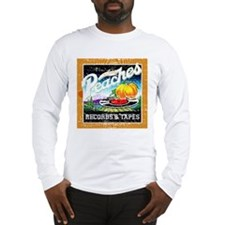 Peaches Records & Tapes Distr Long Sleeve T-Shirt