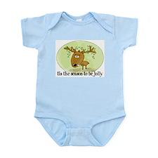 Jolly Reindeer Infant Creeper