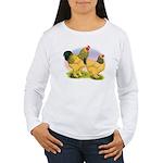 Buff Brahmas2 Women's Long Sleeve T-Shirt