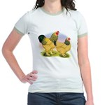 Buff Brahmas2 Jr. Ringer T-Shirt