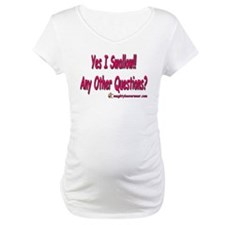 I Swallow Any Other Questions Shirt
