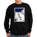 Tracks in the Snow Sweatshirt (dark)