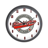 Rimington O-Line Camp Wall Clock