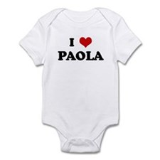 I Love PAOLA Infant Bodysuit