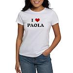 I Love PAOLA Women's T-Shirt