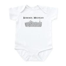 Bessemer, Michigan - Infant Bodysuit