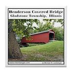 Henderson Covered Bridge Tile Coaster