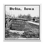 Delta Covered Bridge Tile Coaster