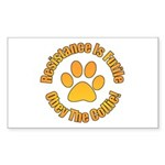 Collie Sticker (Rectangle 10 pk)