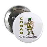 "Conan the Bavarian 2.25"" Button (100 pack)"