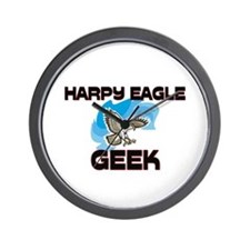 Harpy Eagle Geek Wall Clock