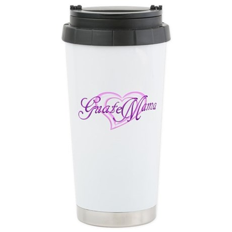 GuateMama 5 Stainless Steel Travel Mug