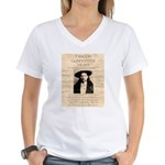 J.B. Hickock Women's V-Neck T-Shirt
