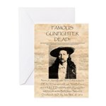 J.B. Hickock Greeting Cards (Pk of 10)