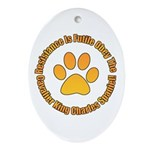 Cavalier King Charles Spaniel Ornament (Oval)